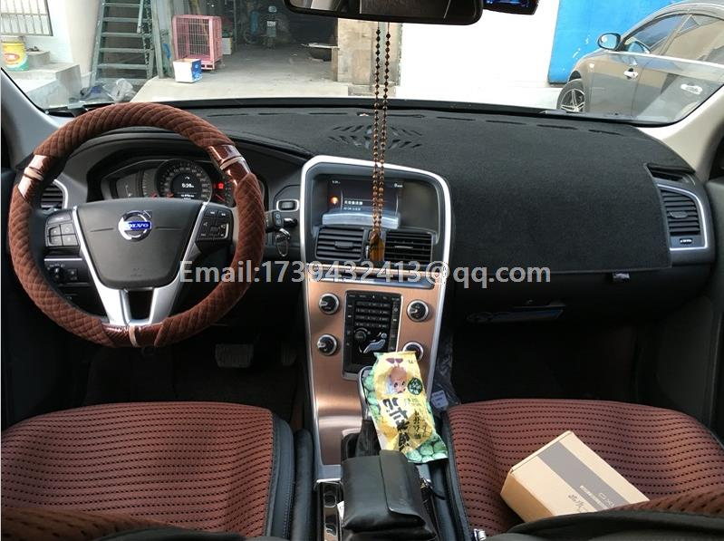 Dashmats Car-styling <font><b>Accessories</b></font> Dashboard Cover For <font><b>Volvo</b></font> <font><b>Xc60</b></font> 2008 2009 2010 2011 <font><b>2012</b></font> 2013 2014 2015 2016 2017 image