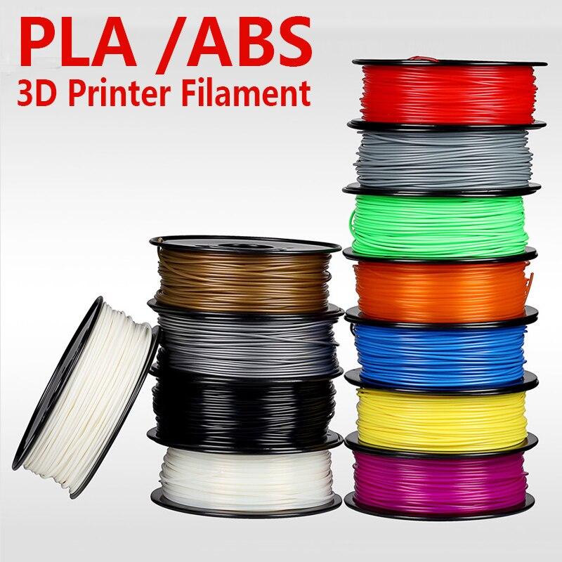 3D printer filament ABS / PLA 1.75mm with 30 colors for 3D printing pen 3D Printer 3D Model creation plastic Material supplies  biqu new spool filament mount rack bracket for pla abs filament 3d printer