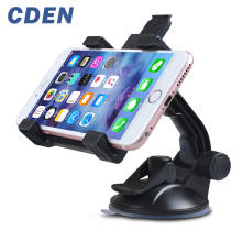 Universal Car Phone Holder 360 Degree Rotation Navigation Phone Holder Glass Suction Support Large Screen 7 Inch ipad Cell phone 180 degree rotation holder mount w h01 suction cup c60 back clamp for 7 10 inch tablets black