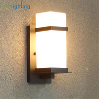 Modern Outdoor Lighting Wall Lamp Waterproof Wall Lights Porch Light Up and Down Lamp Fixtures Bathroom washroom wall sconces