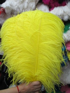 Image 3 - Оптовая продажа, 10 шт., качественные натуральные белые перышки страуса с большим полюсом, 45 50 см/18 20 дюймов, свадебные, карнавальные, сценические выступления