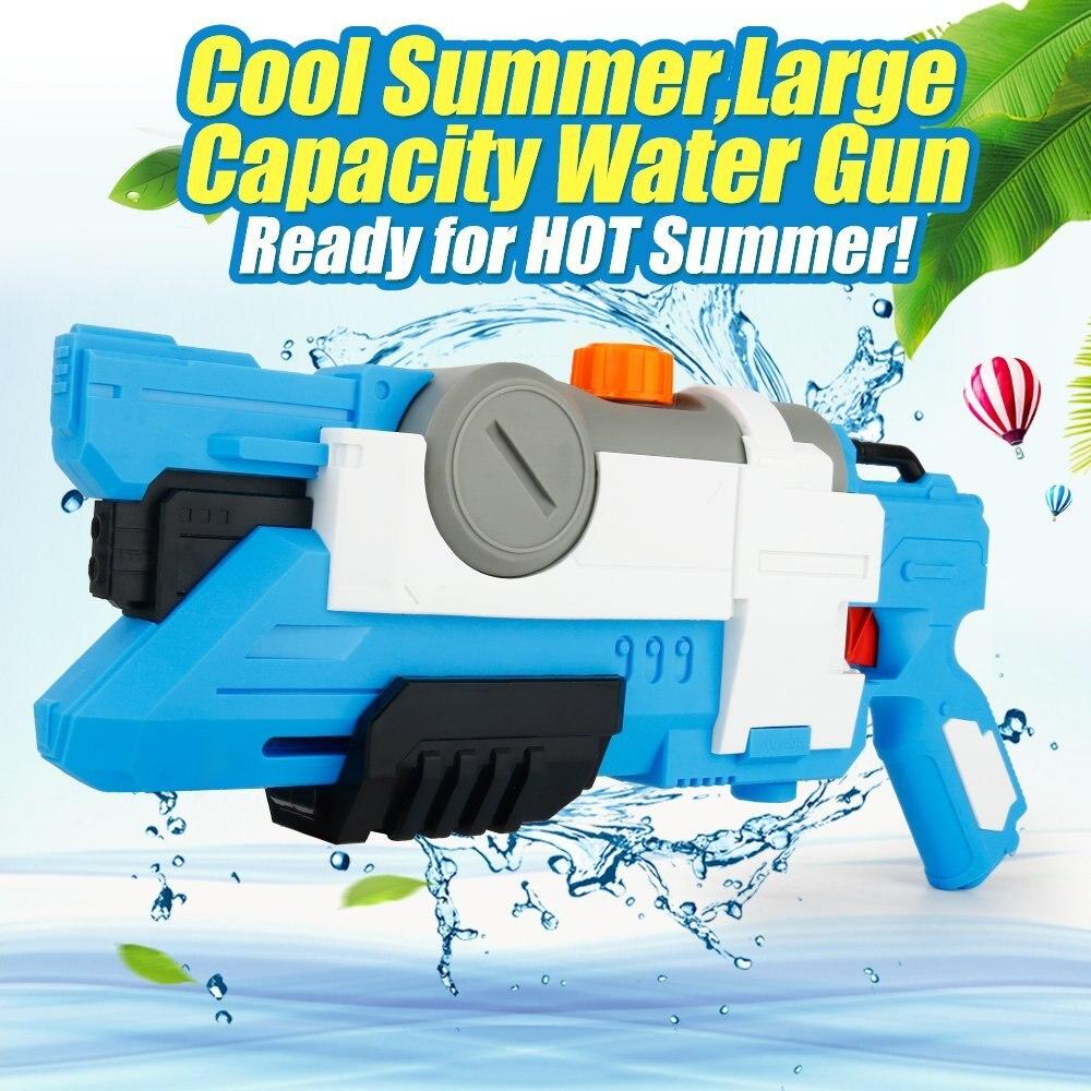 Water Guns Super Soaker Gun Large Capacity Summer Beach Toys Water Pistol for Kids Best Swimming Beach Games(550ml)