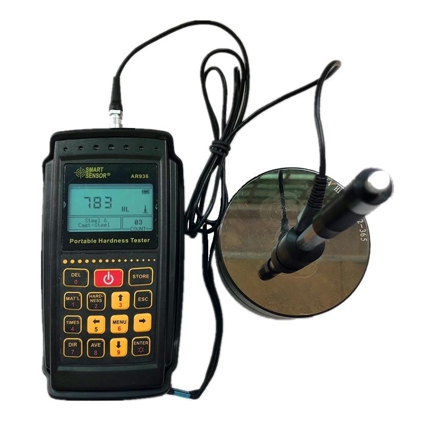 Smart Sensor AR936 Portable Leeb Hardness Tester 170-960HLD Digital Gauge HL HB HRC HRB HRA HV HS Durometer