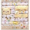 18 Peça Do Bebê Unisex Define Outono Inverno Newborn Gift Set Infantil De Algodão Grosso Underwear 0-1Year