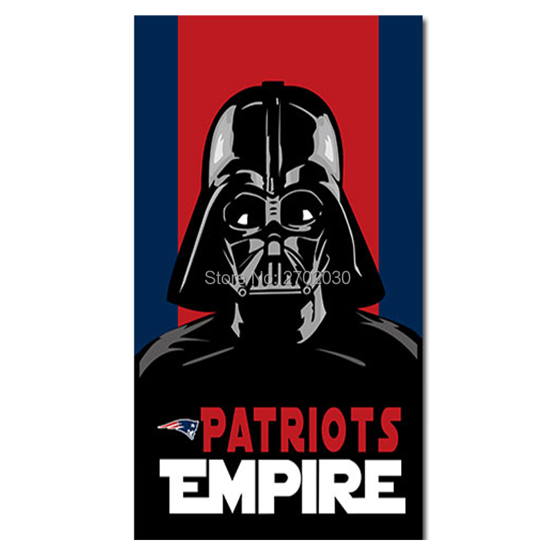 Empire New England Patriots Flag Custom Football Team 3ft X 5ft World Series Super Bowl Champions Empire Patriots Banner