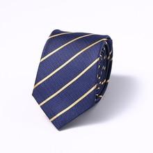 6cm Width Mens Ties New Fashion Neckties Corbatas Gravata Jacquard Woven Slim Tie Business Wedding Stripe Neck Tie For Men fashionable star and stripe pattern patchwork 5cm width tie for men