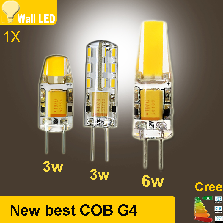2015 new dc ac 12v g4 cob 12v led bulb lamp smd 3014 3w 5w 6w replace 10w 30w halogen lamp light. Black Bedroom Furniture Sets. Home Design Ideas