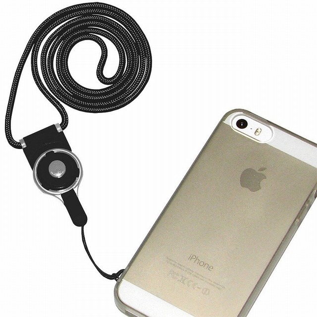 Portefeuille Detachable CellPhone Neck Lanyard For IPhone Lanyards - Porte badge tour de cou