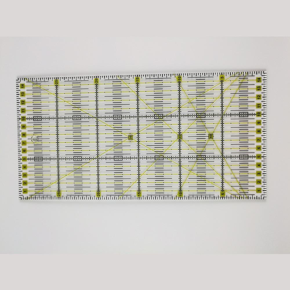 Patchwork vonalzó akril paplan vonalzó Patchwork vonalzók Varrás - Művészet, kézművesség és varrás