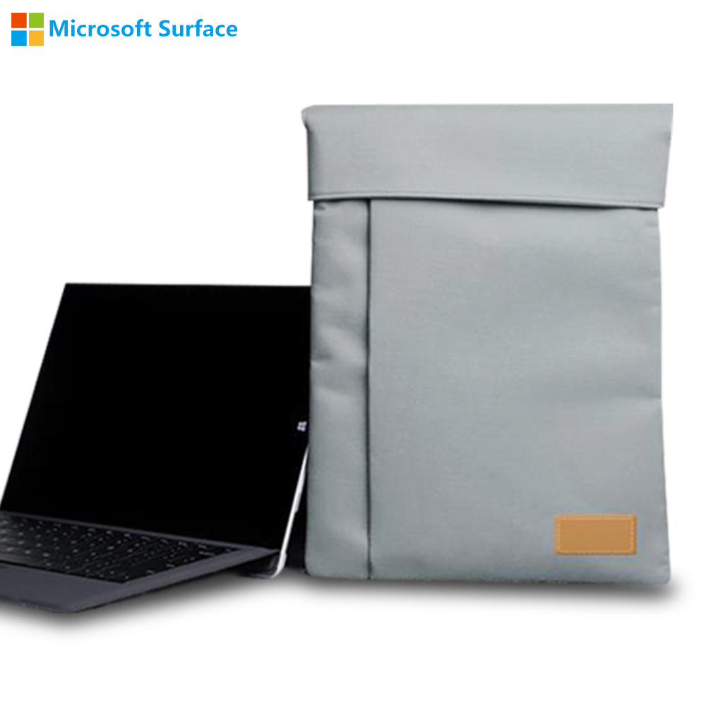 New Case for 12.3 inch Microsoft Surface Pro 4 Pro 3 with Multi-pocket Portable Sleeve Handbag Case