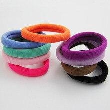 20 шт. высококачественные женские галстуки для волос эластичная повязка на голову веревка кольцо резиновые головные уборы аксессуары