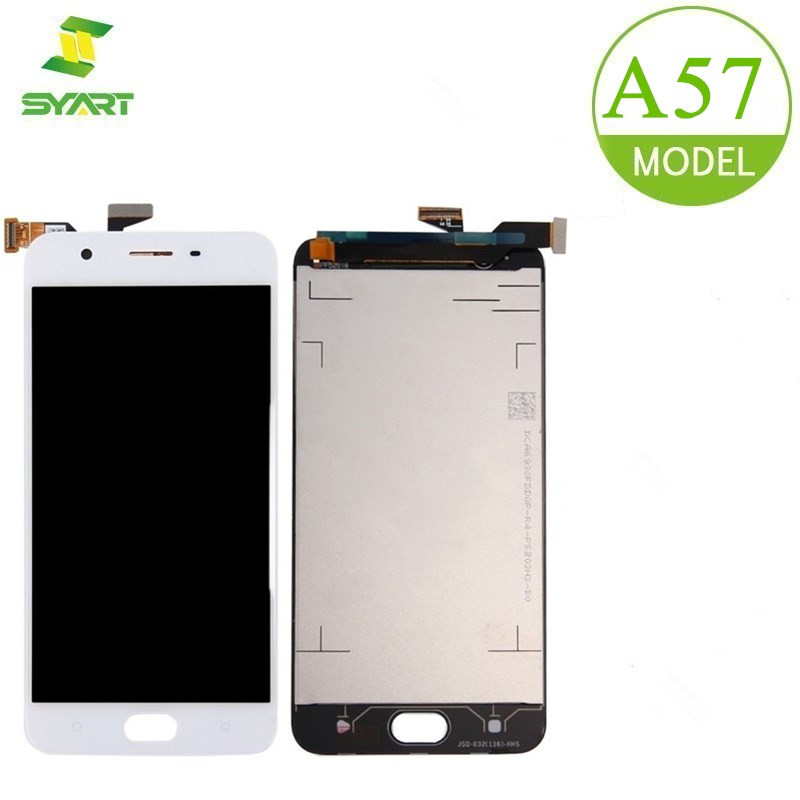 For <font><b>OPPO</b></font> <font><b>A57</b></font> LCD <font><b>Display</b></font> With Touch Screen Digitizer Assembly Replacement Parts + Free Tools For <font><b>A57</b></font> F3 Lite 5.2Inch LCDs Screen image