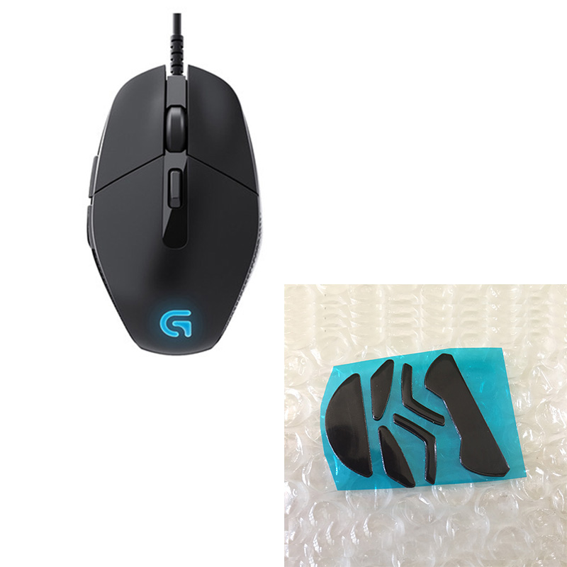 Logitech G302 Daedalus Prime MOBA Gaming Mouse with mouse feet for Logitech G302 mouse feet logitech g302 дедал prime gaming mouse moba