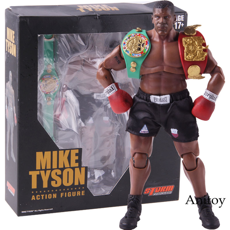 King of Boxing Mike Tyson Figure Boxer with 3 Head Sculpts 1/12 Scale Action Figure Storm Collectibles Model ToyKing of Boxing Mike Tyson Figure Boxer with 3 Head Sculpts 1/12 Scale Action Figure Storm Collectibles Model Toy