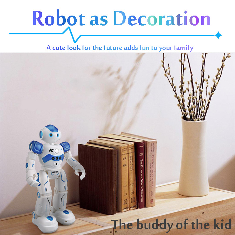 Wood - LEORY RC Robot Intelligent Programming Remote Control