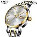 2019 neue Uhren Männer Luxus Marke LIGE Fashion Business Uhren männer Wasserdichte Leder Quarz Analog Uhr Relogio Masculino