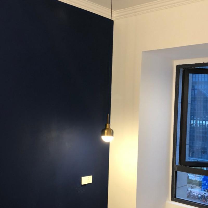 Nordic Bedroom Vintage Lamp Brass Loft Industrial Suspension Luminaire E27 Pendant Light Antique Mini Hanging Lights