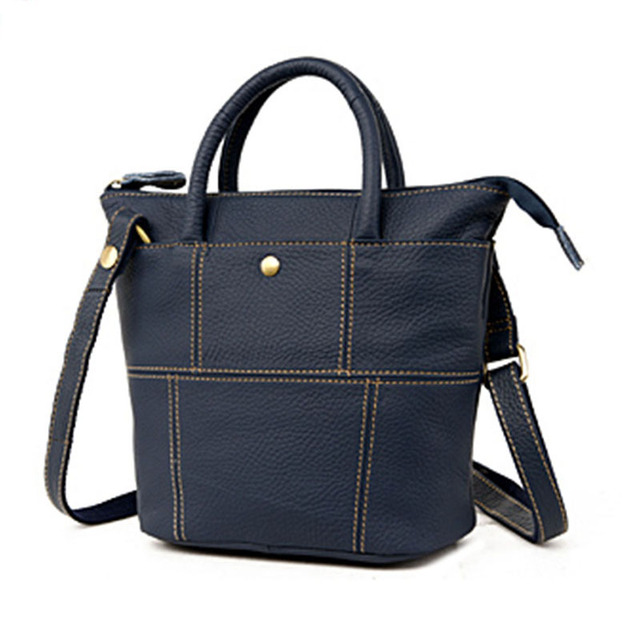 Guarantee 100% Genuine Leather Woman Casual brown crossbody hand bag  Vintage Retro Shoulder Bags Small inexpensive handbags 7789b7dad9