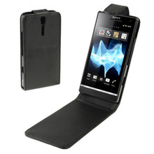 Mobile Phone Leather Case for Sony Xperia S / LT26i Full Cov