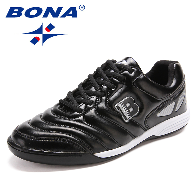 BONA New Arrival Classics Style Men Soccer Shoes Professional Trainer Male Football Shoes Lace Up Men