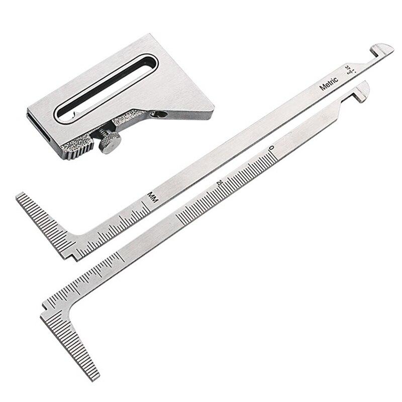 Welding Gauge Weld Inspection Gage Weld Seam Bead/Fillet/Crown Test Ulnar Ruler 0-20mm Degree Angle Measure