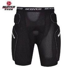 2016 Новый SCOYCO профессиональный Защитный мотоциклов броня брюки Падение сопротивления защитный спортивные шорты для человека PM01 черный цвет