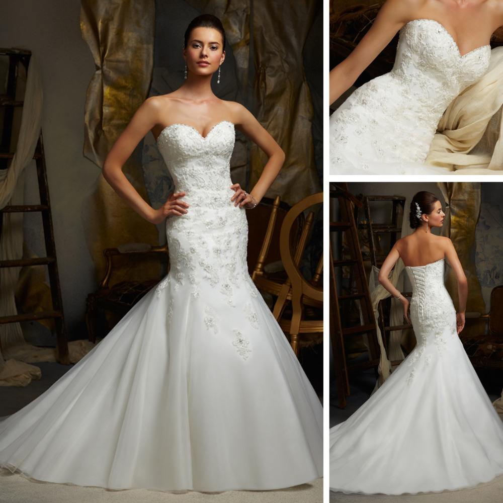WE198 Alibaba Lebanon Designer New Model 2013 Lace Mermaid Wedding Dress Patterns In Dresses From Weddings Events On Aliexpress