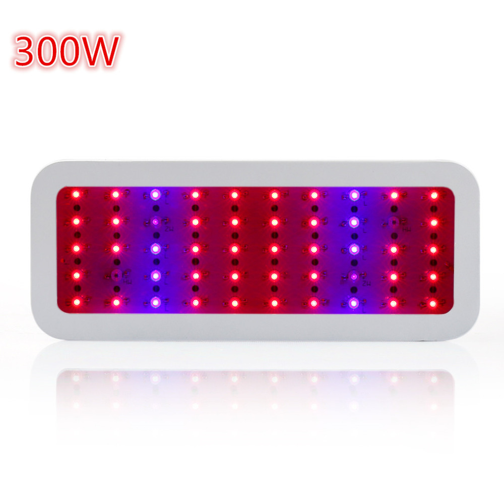 300W Mini LED Grow light Full Spectrum Led Plant Growth Lamp Red/Blue/IR/UV best for hydroponics and indoor plant growing new 8 band 50w 100w 50 2w grow light led chip full spectrum led red blue uv ir white for indoor plant seeding growing flower