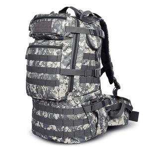 Image 4 - Sac à dos militaire classique, sacoche militaire étanche en Nylon 50l, randonnée camping Camouflage, grande capacité pour hommes