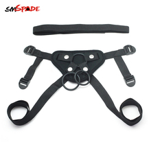 Smspade Sex Toys For Couples Adult Games Sex Shop Adjustable Strap on Bondage Harness Strapon Sex Dildo Toys Slave Men Harness