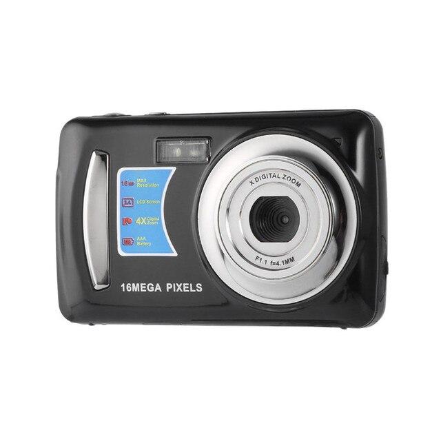 16MP 4X Zoom Độ Nét Cao Video Kỹ Thuật Số Máy Ảnh Máy Quay Phim 2.4 inch TFT LCD Màn Hình 8 gb Auto Power-off bán nóng Thả vận chuyển