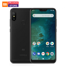 Global Version Xiaomi Mi A2 Lite 4GB 64GB 5.84'' Screen Snapdragon 625 Octa Core Smartphone AI Dual Camera Android One CE FCC