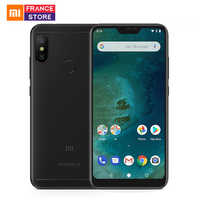 Global Version Xiaomi Mi A2 Lite 4GB 64GB 5.84'' Screen Snapdragon 625 Octa Core Smartphone AI Dual Camera Android One CE FCC