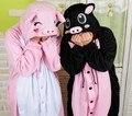 Взрослых Фланели свинья Пижамы All in One Pyjama Животных Костюмы Косплей Костюмы Для Взрослых Одежды Милый Мультфильм Животных Onesies Пижамы