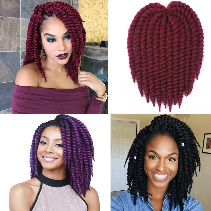 hair extensions style 12 quot crochet braids synthetic hair extensions braided hair 3886