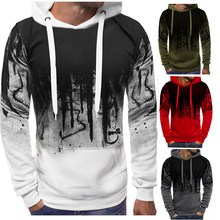 E-BAIHUI spring hoodies men Camouflage sweatshirt fashion casual cotton pullover hooded sweatshirt printing man sweatshirt F810 sweatshirt f e v by francesca e versace sweatshirt