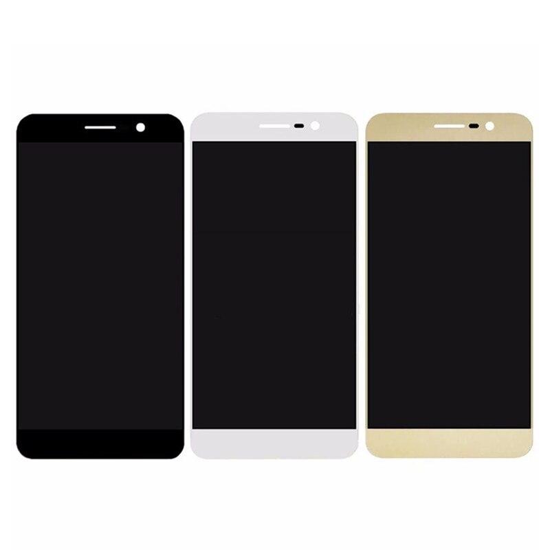 Pour lame ZTE A910 plein écran LCD avec écran tactile numériseur assemblée pièces de rechange 5.5 pouces noir/blanc/or