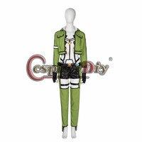 Cosplay Sword Art Online Asada Shino Costume Adult Women Halloween Carnival Cosplay Asada Shino Costume Custom