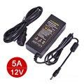 LED Strip Power Supply DC 5A Transformer Power Adapter High Quality AC110V-240V to DC 12V US/UK/AU/EU