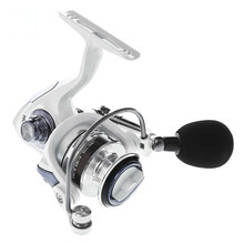 13 + 1BB Gear Ratio Up to 5.1:1 Spinning Fishing Reel with Exchangeable Handle Automatic folding for Casting Line