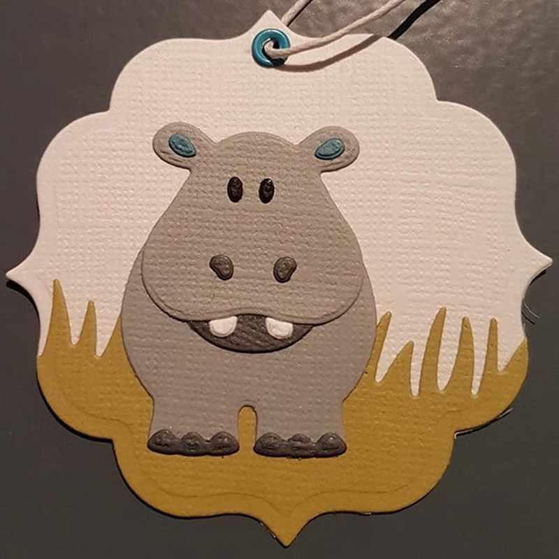Детские игрушки животные лев тигр металлические трафареты для пресс-формы для DIY Скрапбукинг фото украшение для альбома тиснение бумажные карточки ремесла