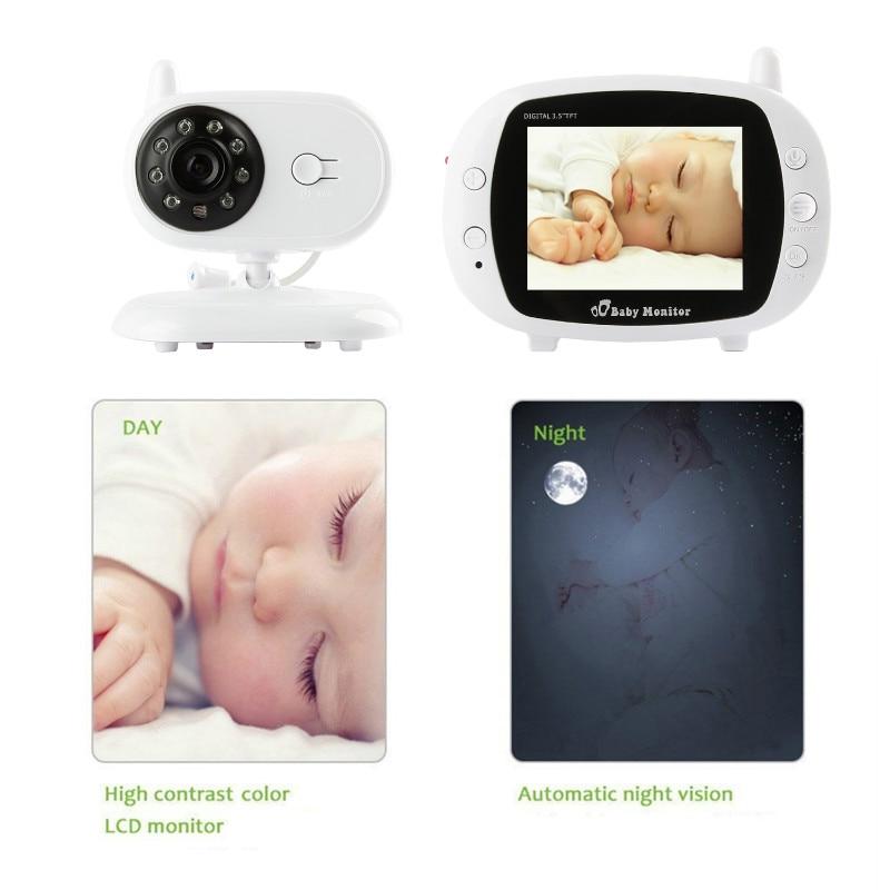 Baby sleep Monitor LCD Digital Display 2,4 GHz Signal Toveis Talk - Baby sikkerhet - Bilde 2