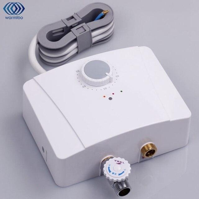 5500 W Mini Scaldabagno Elettrico Calda Istantanea Sistema Intelligente  Temperatura Costante Bagno Di Acqua Calda Rubinetto
