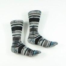 Мужские темно-серые полосатые носки для скейтеров США Размер M(6-9), европейский размер 39-42