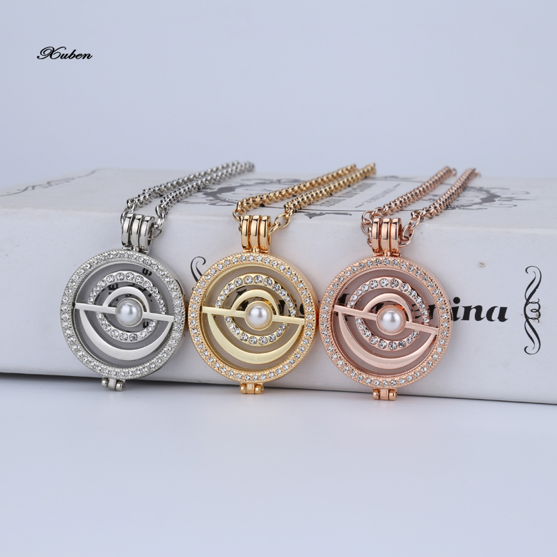 Interchangeable Disc Necklace: Aliexpress.com : Buy 35mm Coin Necklace Pendant Set With