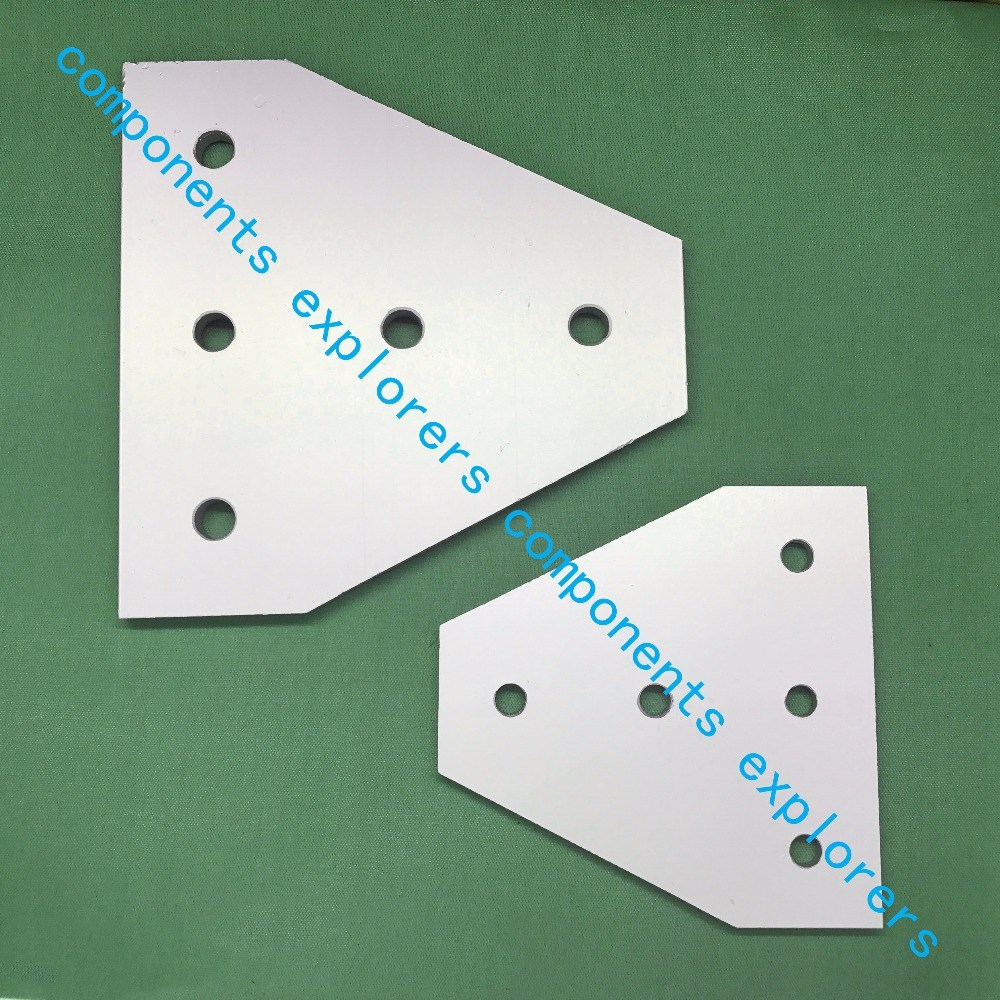 4545T-5-connection plate for reinforcement of profiles,10pcs/lot. пилочка для ногтей leslie store 10 4sides 10pcs lot