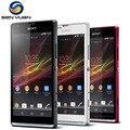 Оригинальный Разблокирована Sony Xperia SP M35h Мобильный Телефон Dual Core 3 Г и 4 Г, WIFI, GPS 8 ГБ ROM 8MP C5303 сотовый телефон
