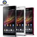 Abierto original sony xperia sp m35h teléfono móvil dual core 3g y 4g wifi gps 8 gb rom 8mp celular c5303 teléfono
