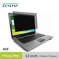 14 Inch High Quality PET Material Laptop Privacy Screens Anti Privacy Filter For Laptop Computer Monitor
