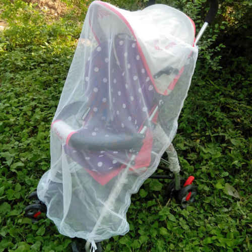 1Pcs Portable Baby Carriage Insect Safety Full Cover Mosquito Net Stroller Bed Mosquito Net Cover Case Slipcover 100x110cm